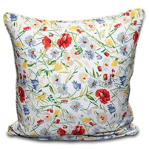 "100% Cotton Multi Flower Cushion Cover Pillow Case Sofa Home Decor in 16""18"" 20"""
