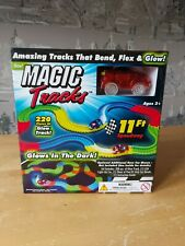 Magic Tracks 220 Pieces Of Glow Track Light Up Car