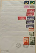 United Nations First Day Covers/Postal Stationery Collection. Scott: $286.00