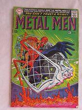 Vintage Comic Book Metal Man Nov. No. 28 1967 Gc