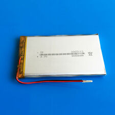 3.7V 8000mAh Li Po Rechargeable Battery For Tablet PC DVD MID Power Bank 8065113