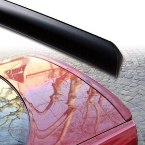 Fyralip Y21 Matte Black Trunk lip spoiler For Holden Commodore VY Sedan 02-04