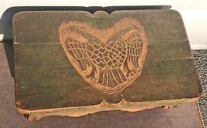 Double Eagle European Hand Made Vintage Miniature Bench Home Decor Collectible