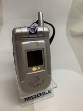 LG U8630 - Silver (Three) Mobile Phone
