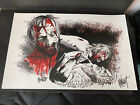 The Walking Dead TV Show Retired Art Print Signed By Artist SEE DESCRIPTION