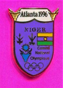 1996 OLYMPIC NIGER PIN NOC PIN NIGER NATIONAL OLYMPIC COMMITTEE Atlanta Games Pi