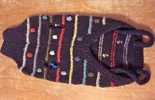 Dog Coat 100% Wool Handmade