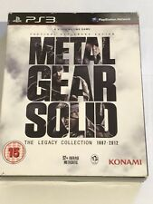 Metal Gear Solid: The Legacy Collection UK Jeu Complet * Free UK POST *