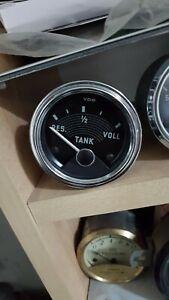 VW Karmann Ghia Low Light originale 6 Volt Tankuhr von 1957 Top Mwst. ausweisbar
