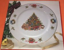 """""""Country Christmas� By Jay 10 1/4"""" Dinner Plate. With Stand! It's A Beauty!"""