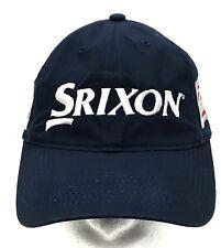 SRIXON Golf Z-Star 100% Cotton Blue Strapback Small Shallow Dad Hat Cap