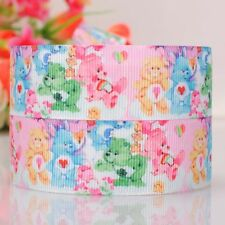 5yds 7/8'' (22mm) cartoon printed grosgrain ribbon Hair bow y936,