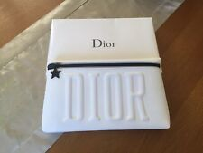 Large Christian Dior Designer Clutch Purse cosmetic make up bag new In Box