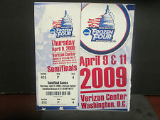 NCAA- 2009 MEN'S FROZEN FOUR- WASHINGTON,D.C- SEMI FINAL FULL TICKET- B.U. WINS
