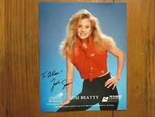 """SUSI  BEATTY (""""Nobody Loves Me Like the Blues"""") Signed 8 x 10 Glossy Color Photo"""
