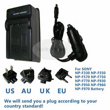 Battery Charger for SONY HVR-HD1000 HVR-HD1000C HVR-HD1000E DV Camcorder