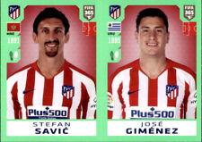 Panini Fifa 365 2020 Sticker 78 - Stefan Savic - Jose Gimenez