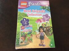 Lego Friends Best Friends Collection 4 Books in 1 -  Emma & her Ice Cream Stand