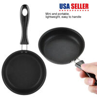 Non Stick Mini Iron Skillet For Eggs Steak Camping Mini Lodge Frying Pan 5 Inch