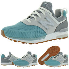 New Balance Girls 574 Faux Leather Trainers Fashion Sneakers Athletic Bhfo 5417
