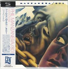 PHIL MANZANERA-LISTEN NOW-JAPAN MINI LP SHM-CD BONUS TRACK Ltd/Ed F83