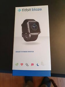 Fitbit Blaze Fitnessuhr schwarz Gr. L Unisex