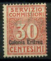 Eritrea 1916 Sass. 1 Nuovo * 100% Servizio Commissioni