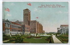 Sears Roebuck Mail Order House Chicago Illinois 1910c postcard