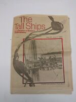 Vintage Rare Boston Herald Souvenir Section Tall Ships May 29 - June 4, 1980