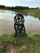 More details for cockapoo metal dog garden art