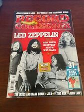RECORD COLLECTOR MAGAZINE - Issue 396 - Christmas 2011 - Led Zeppelin / Purple