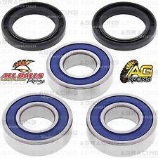 All Balls Rear Wheel Bearings & Seals Kit For Suzuki RM 250 1996 96 Motocross