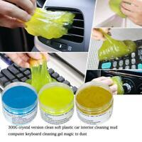 300g Magic Soft Sticky Clean Glue Gum Silica Gel Car Keyboard Dust Dirt Cleaner
