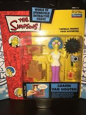 The Simpsons World Of Springfield Interactive Figure Luann Van Houten. New