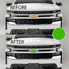 4D Carbon Fiber Steering Wheel Emblem Bowtie Decal 2014-2018 Chevy Silverado