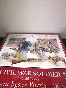 Suns Out Civil War Soldier 500 Piece Jigsaw Art Puzzle By Dahl Taylor SEALED NEW