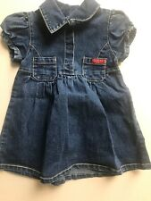 Guess Baby Girls Jean Dress Size 12 Month