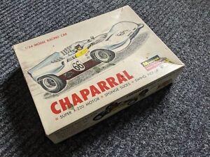 MONOGRAM VINTAGE 1/24  CHAPARRAL SLOT CAR * BOX  ONLY 1960's