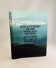 The Tree Where Man Was Born-Peter Matthiessen-SIGNED!-INSCRIBED!-First/1st?-RARE