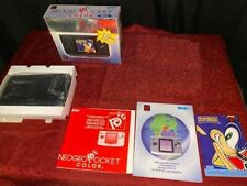 Neo Geo Pocket Color Anthracite Complete In Box with Sonic