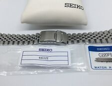 SEIKO NEW 22MM JUBILEE BRACELET FOR SKX007 / SKX009 PT # 44G1ZZ + (2) C220FS