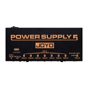 Joyo JP05 Rechargeable Isolated Power Supply Brick with USB Port - New