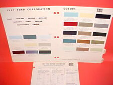 1967 FORD LINCOLN MERCURY THUNDERBIRD MUSTANG COUGAR RANCHERO COMET PAINT CHIPS