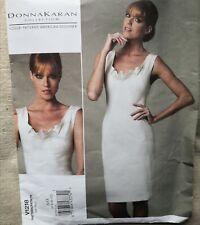 VOGUE AMERICAN DESIGNER PATTERN for DRESS  by DONNA KARAN