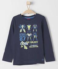 s.Oliver Jungen-T-Shirts, - Polos & -Hemden mit Rundhals-Ausschnitt