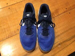Nike Men's METCON 3 SIZE 13 US Blue / White 852928-400 Training Gym Shoes NICE