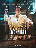 Plakat Kino Live By Night Ben Affleck - 120 X 160 CM