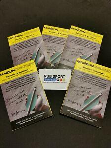 Mandun Billiard Pool Cue Shaft Burnisher, Cleaner Polisher Snooker Accessory. UK