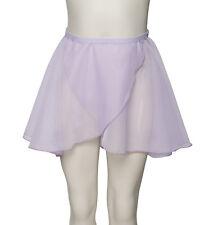 Girls Ladies Dance Ballet Pull On RAD All Colours Georgette Skirt By Katz KDGS01