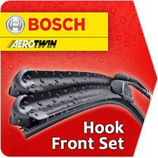 "18""/ 18"" Bosch Aerotwin Front Windscreen Wiper Blades Aero Flat Genuine Car Qf6"